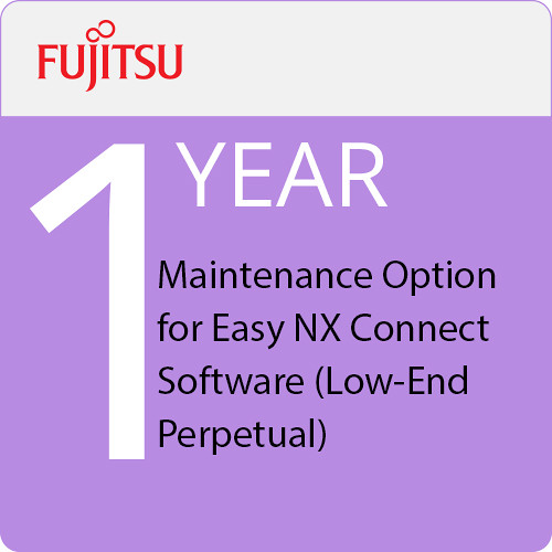 Fujitsu 1-Year Maintenance Option for Easy NX Connect Software (Low-End Perpetual)