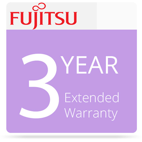 Fujitsu Basic 3-Year Warranty for fi-6010N Scanner