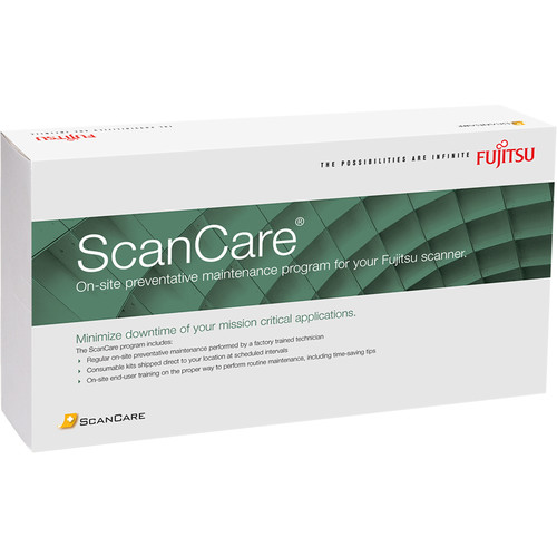 Fujitsu 3-Year ScanCare for FI-7480 Departmental Scanner (4 Hours)