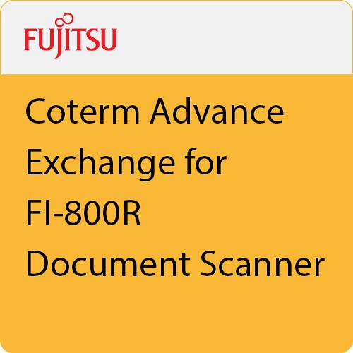 Fujitsu Coterm Advance Exchange for FI-800R Document Scanner