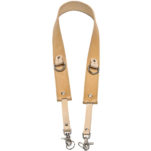 """Funk Plus 1.75"""" Wide Camera Strap with D-Ring (Beige)"""