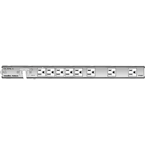 Furman VT-EXT Equipment Rack Power Distribution with Ground Isolation