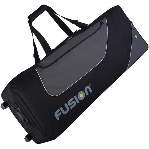 Fusion-Bags Keyboard 12 Gig Bag with Wheels (76 - 88 Keys)