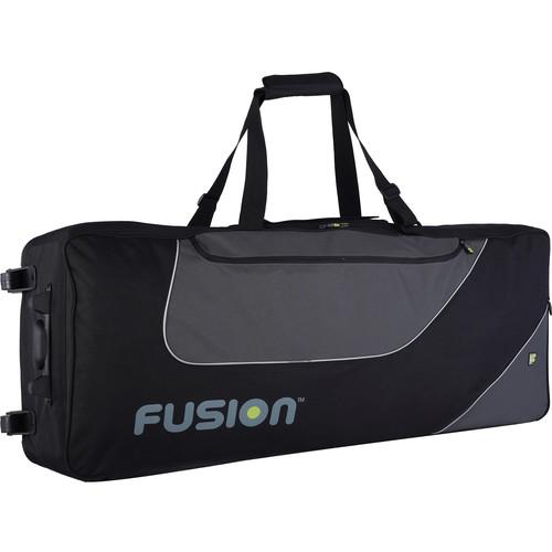 Fusion-Bags Keyboard 14 Gig Bag with Wheels (76-88 Keys)