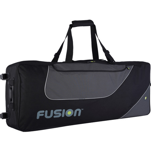 Fusion-Bags Keyboard 14 Padded Gig Bag with Wheels (76-88 Keys)