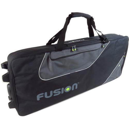 Fusion-Bags Keyboard 16 Gig Bag with Wheels (76-88 Keys)