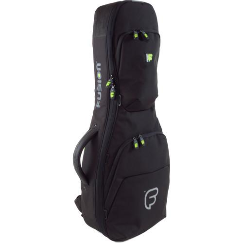 Fusion-Bags Urban Series Baritone/Bass Ukulele Bag (Black)
