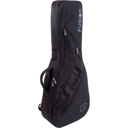 Fusion-Bags Funksion Skinny Acoustic/Dreadnought Guitar Gig Bag (Black)