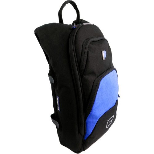 "Fusion-Bags Premium Medium ""Fuse-on"" Backpack (Black/Blue)"