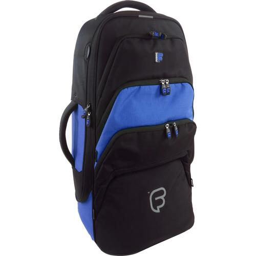 Fusion-Bags Premium Euphonium Gig Bag (Black/Blue)