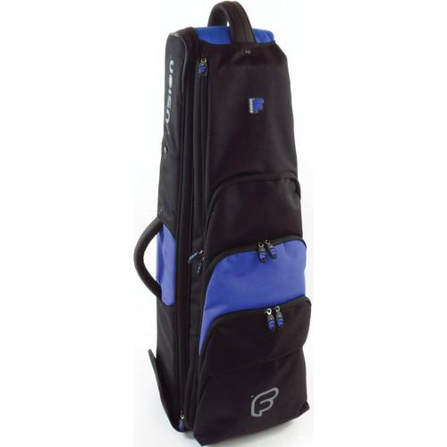 "Fusion-Bags Premium 9.5"" Tenor Trombone Gig Bag (Black/Blue)"