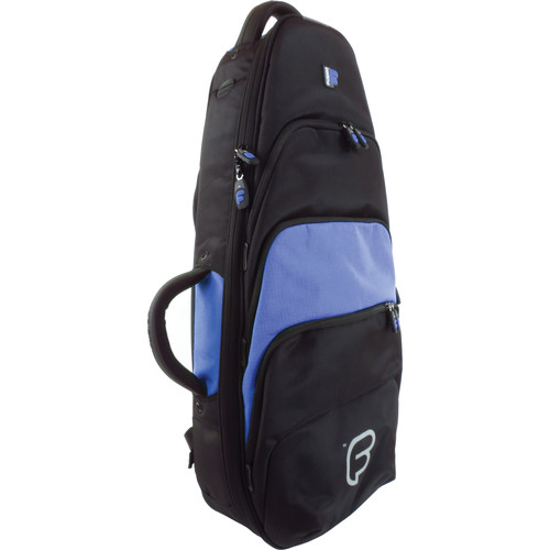 Fusion-Bags Premium Tenor Ukulele or Mandolin Gig Bag (Black/Blue)