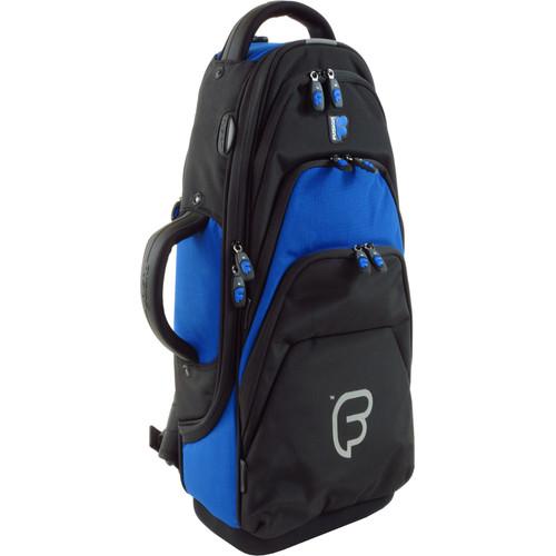 Fusion-Bags Premium Alto Saxophone Gig Bag (Black/Blue)