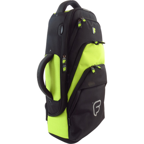 Fusion-Bags Premium Alto Saxophone Gig Bag (Black/Lime)
