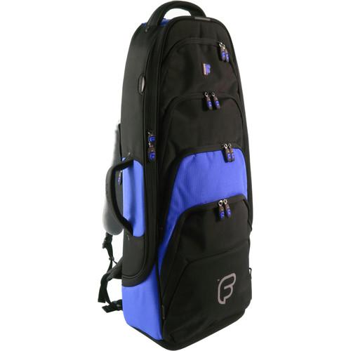 Fusion-Bags Premium Tenor Saxophone Gig Bag (Black/Blue)