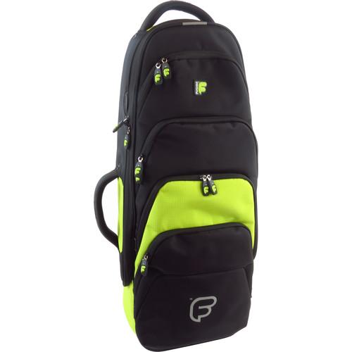 Fusion-Bags Premium Tenor Saxophone Gig Bag (Black/Lime)