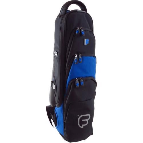 Fusion-Bags Premium Soprano Saxophone / Clarinet / Flute Gig Bag (Black/Blue)