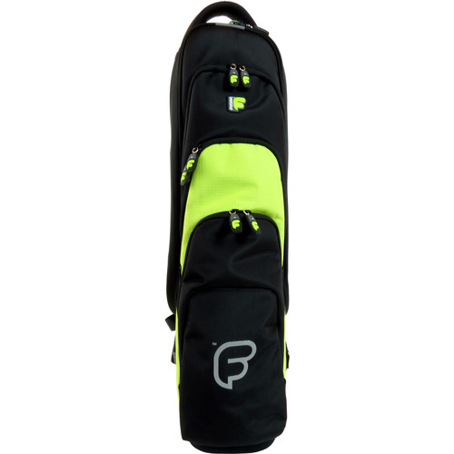 Fusion-Bags Premium Soprano Saxophone / Clarinet / Flute Gig Bag (Black/Lime)