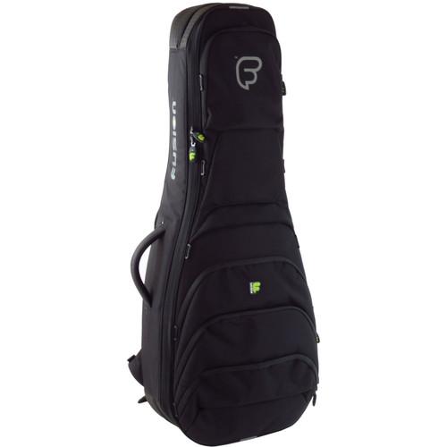 Fusion-Bags Urban Double Electric/Acoustic Guitar Case (Black)