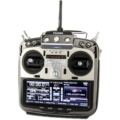 Futaba Air Transmitter 18MZ with an R7008SB receiver