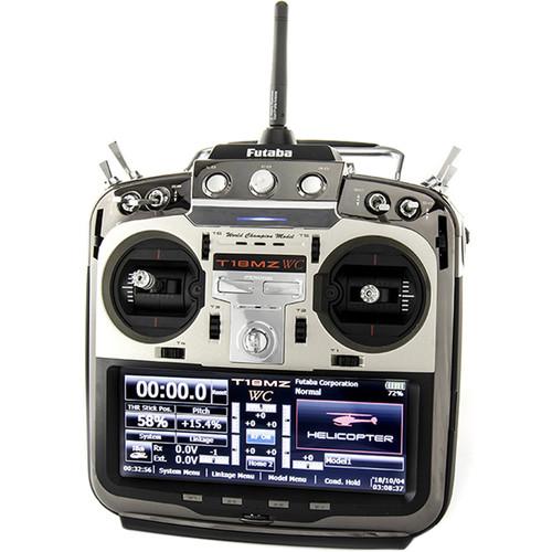 Futaba 18MZA 2.4GHz FASST Aircraft Spec Radio System w/ R7014SB Receiver