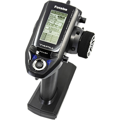 Futaba 4PM TransmitterSuper Response Digital Proportional RC System With R334SBS Receiver
