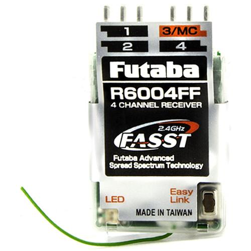 Futaba R6004FF FASST 2.4 GHz 4-Channel Air Receiver