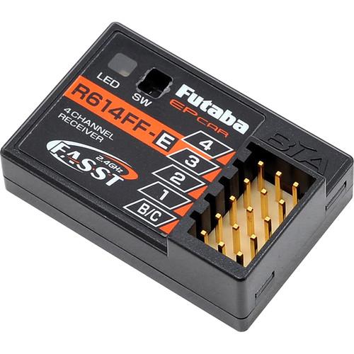 Futaba R614FF-E FASST 2.4 GHz System 4-Channel Receiver