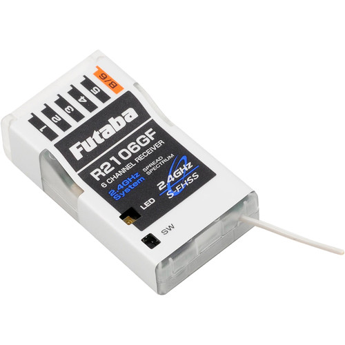 Futaba R2106GF S-FHSS 2.4 GHz System 6-Channel Air Receiver