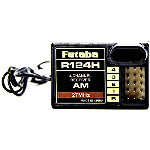 Futaba R124H AM 27 MHz 4-Channel Mini Air Receiver