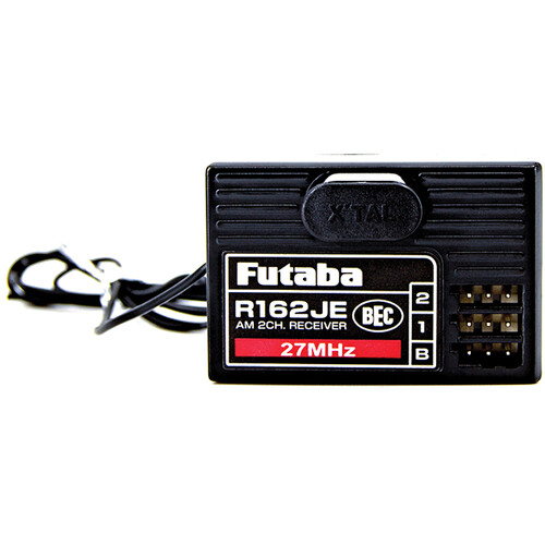 Futaba R162JE AM 27 MHz 2-Channel Air Receiver