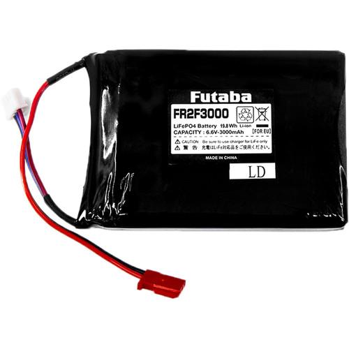 Futaba 3000mAh LiFe Receiver Battery