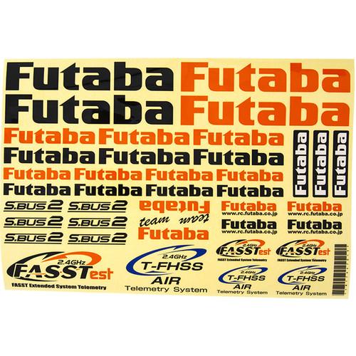 """Futaba 10"""" x 7"""" Decal Sheet For Air"""