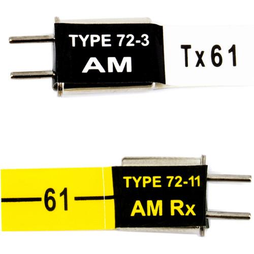 Futaba AM 75.41 MHz Crystal Set (TX Crystal & RX Crystal)