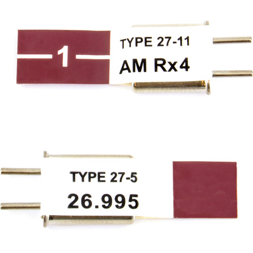 Futaba AM TX & RX Crystal Set (27.195 MHz)