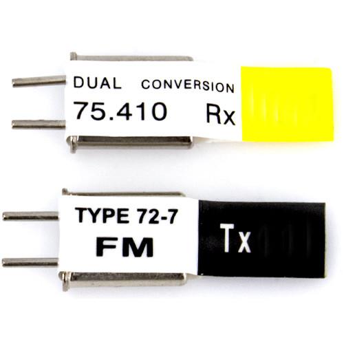 Futaba Dual 75.65 MHz Crystal Set (TX Crystal & RX Crystal)