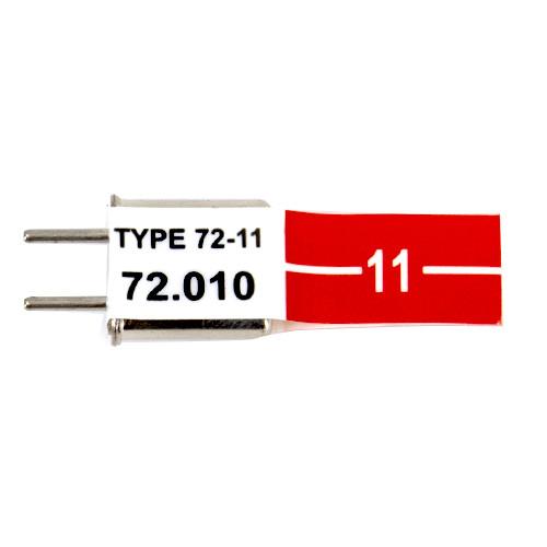Futaba AM 72.55 MHz Receiver Crystal