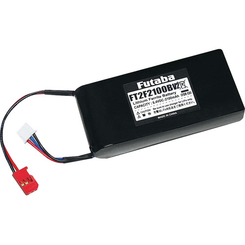 Futaba 2100mAh LiFe Lithium-Ion 2-Cell Transmitter Battery