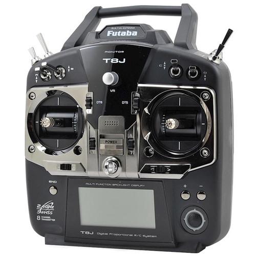 Futaba 8J 2.4GHz S-FHSS 8-Channel Airplane Radio System With R2008SB