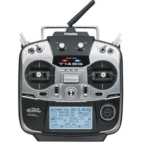Futaba 14Sga 2.4GHz 14-Channel Airplane Radio System With R7008Sb Receiver