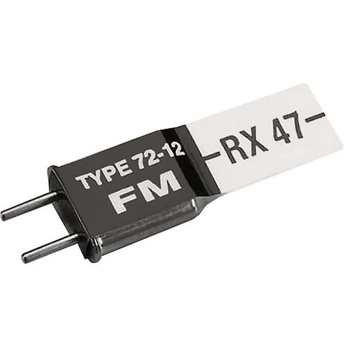 Futaba FRC556 FM RX Crystal Short R114F 72MHz High