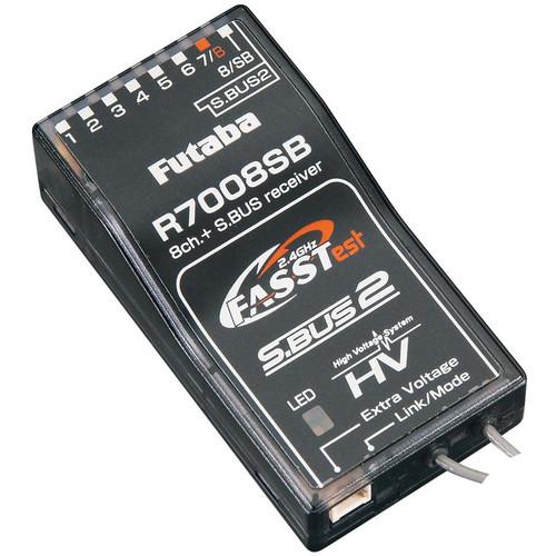 Futaba R7008Sb 2.4Ghz Fasstest Telemetry Rx 14Sg 18Mz 18Sz