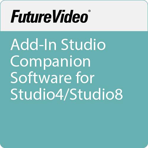 FutureVideo Add-In Studio Companion Software for Studio4/Studio8