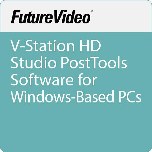 FutureVideo V-Station HD Studio PostTools Software for Windows-Based PCs