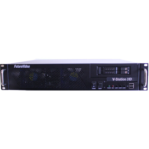 FutureVideo V-Station HD Studio4 DVR with HDMI Inputs/Outputs