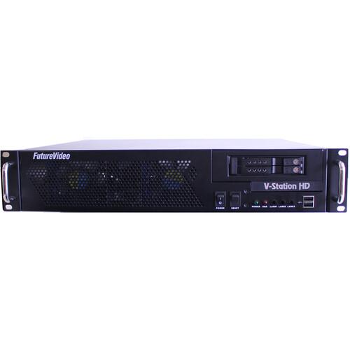 FutureVideo V-Station HD Studio4 DVR with SDI Inputs