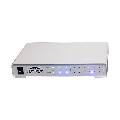 FutureVideo V-Station HD Producer4S Recorder/Switcher/Streamer System