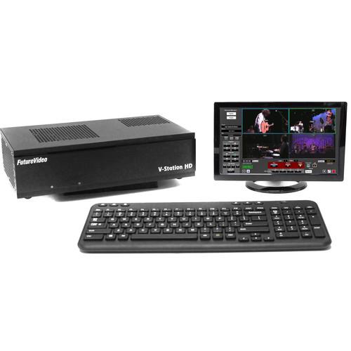 FutureVideo V-Station HD Pro4 Plus DVR with SDI Inputs