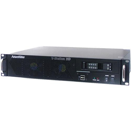 FutureVideo V-Station HD Studio8 DVR System (3G-SDI & HDMI)