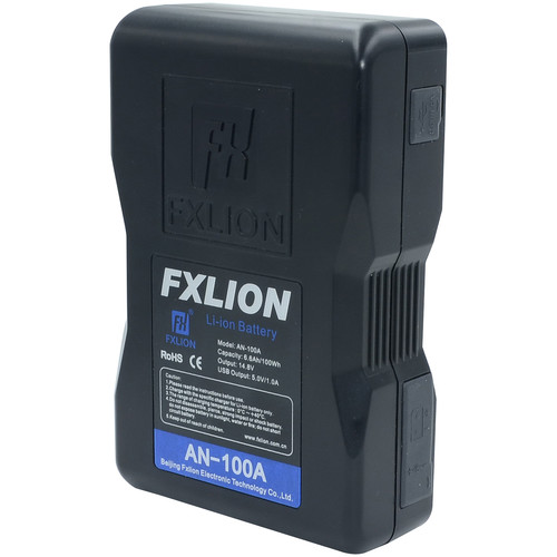 Fxlion Cool Black Series AN-100A 14.8V Lithium-Ion Gold Mount Battery (98Wh)